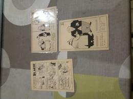 3 Stuks Postkaarten Van Marcel Antoine - Comics