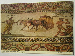 CP Chypre  Cyprus  -  PAPHOS  PAFOS  Mosaic Mosaique - Chypre