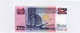 SINGAPOUR / Superbe Billet UNC De 1992 N° 28 De Paper Money Jamais Servi - Singapour