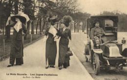 Val De Marne - Vincennes - La Mode Nouvelle - Les Jupes-Pantalons Au Bois - Le Matin - Automobile - C 1539 - Vincennes