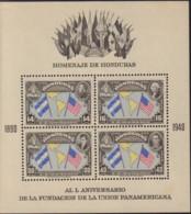 Ref. 576453 * NEW *  - HONDURAS . 1940. 50 ANIVERSARIO DE LA FUNDACION DE LA UNION PANAMEICANA - Honduras