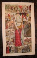 CARTOLINA POSTALE ITALIANA CARTE POSTALE ITALIE  Serie Completa 12 Cartoline  STORIA D'ITALIA - History
