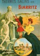 PUBLICITE BASQUE - BIARRITZ - Thermes Salins De Biarritz - Lavielle Edit - écrite 2000 - Tbe - Publicité