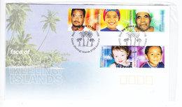 Australia FACE OF COCOS KEELING ISLANDS FDC 2000 - Cocos (Keeling) Islands