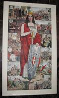 CARTOLINA POSTALE ITALIANA CARTE POSTALE ITALIE  Serie Completa 12 Cartoline PERSONAGGI  STORIA D'ITALIA - History