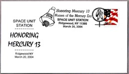 HONORING MERCURY 13 - WOMEN OF THE MERCURY ERA. Ridgewood NY 2004 - Astronomy