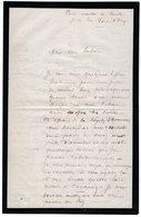 VP13.349  - MILITARIA - PARIS Maison De Santé Près Du Fort D'Ivry - Lettre Du Commandant Du Dépt De La Somme BARDIN - Documents