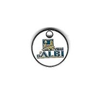 Jeton De Caddie  Argenté  Ville  D' ALBI  ( 81 ) - Trolley Token/Shopping Trolley Chip