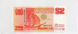 SINGAPOUR / Superbe Biilet De 1990 UNC N° 27 De Paper Money - Singapour