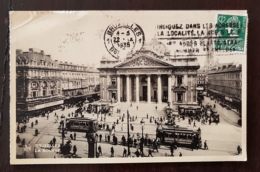 BRUXELLES Belgique. CPA - La Bourse - Monuments, édifices