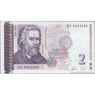 TWN - BULGARIA 115b - 2 Leva 2005 Prefix БP UNC - Bulgaria