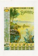 PUBLICITE BASQUE - BIARRITZ - Compagnies D'Orléans Et Du Midi - Lavielle 6564 - Vierge - Tbe - Pubblicitari