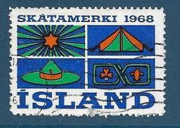 Vignette Islande, Island, 1968, Skout - Vignettes D'affranchissement (Frama)
