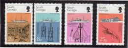 B4 - GEORGIE Du SUD 52/55** MNH De 1976. Les Recherches Du Discovery. - Géorgie Du Sud