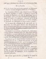 An X - Révolution Française - Consulat - Extrait Minutes  Secrétairerie D'Etat - Peine De Flétrissure - Fausse Monnaie - Décrets & Lois