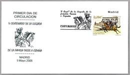 500 Años LLEGADA FAMILIA TASSIS A ESPAÑA. SPD/FDC Madrid 2006 - Correo Postal