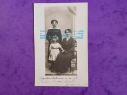 Cpp Augustine Bartineau Bartrumu ? Sa Fille Pauline Et Pierron ? Verdenal ( Femme Fillette ) - Genealogy