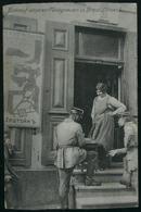 German Soldiers And Jewish Girl Dressmaker. Russia, Belarus, Poland. Jewish Synagogue. Judaica. - Belarus