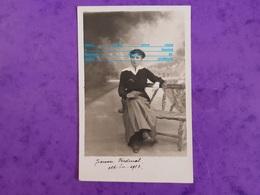 Cpp Jeanne Verdenal De Nancy 54 En Octobre 1917 ( Femme ) - Généalogie