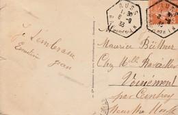 Env Affr Y&T 235 Obl RUSS Du 8.3.33 Adressée à Voinémont - Marcophilie (Lettres)