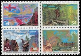 Canada (Scott No.1129a - Découverte Du Canada / Exploration Of Canada) [**] - 1952-.... Règne D'Elizabeth II