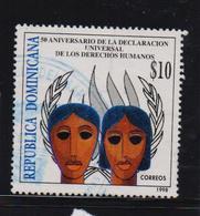 Dominican Republic 1998, $10 Human Rights, Minr 1931, Vfu. Cv 4,50 Euro - Repubblica Domenicana