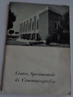 """""""CENTRO SPERIMENTALE DI CINEMATOGRAFIA""""  Roma 1951 Document Cinéma - Livres, BD, Revues"""