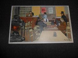 """Illustrateur  Amédée Lynen  Collection """" De - Ci De - Là """" à Bruxelles  N° 1 Partie ( Jeu ) De Cartes Kaarten Speelkaart - Lynen, Amédée-Ernest"""