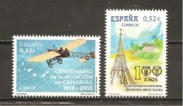 España/Spain-(MNH/**) - Edifil 4796-97 - Yvert 4491-92 - 1931-Hoy: 2ª República - ... Juan Carlos I