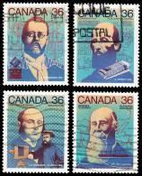 Canada (Scott No.1135-38 - Jour Du Canada / Canada Day) (o) - 1952-.... Règne D'Elizabeth II