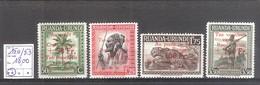 Ruanda-Urundi: N° 150/53 ** MNH Cote COB : 18,00 € - Ruanda-Urundi