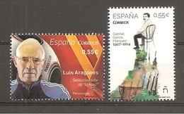 España/Spain-(MNH/**) - Edifil 4962-63 - Yvert 4676-77 - 1931-Hoy: 2ª República - ... Juan Carlos I