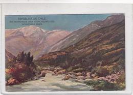 CHILE. RIO ACONCAGUA. DE BUENOS AIRES A VALPARAISO VIA CORDILLERA. CIRCA 1930s NON CIRCULEE-TBE-BLEUP - Chili