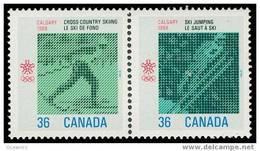 Canada (Scott No.1153a - Olympiques D'hiver (Calgary) Winter Olympics) [**] - 1952-.... Règne D'Elizabeth II