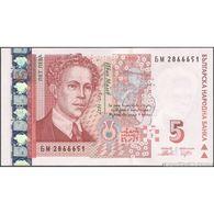 TWN - BULGARIA 116b - 5 Leva 2009 Prefix БМ UNC - Bulgaria