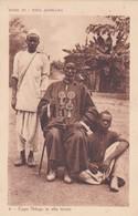 CARTOLINA - AFRICA CENTRALE - VITA AFRICANA - CAPO NDOGO IN ALTA TENUTA - Cartoline