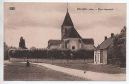 BOULAGES (10) - PLACE COMMUNALE - France