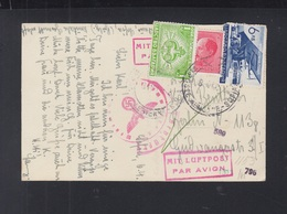 Bulgaria PPC Sofia Air Mail To Germany Censor - 1909-45 Königreich