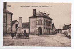 BOULAGES (10) - LE CARREFOUR ET LE MONUMENT AUX MORTS - France