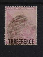 COGH 1880, Overprint, Minr 19, Vfu. Cv 5 Euro - Kaap De Goede Hoop (1853-1904)