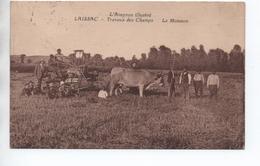 LAISSAC (12) - TRAVAUX DES CHAMPS - LA MOISSON - L'AVEYRON ILLUSTRE - Altri Comuni