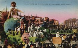 1 Cpa Nice - Carnaval  - Reine De Fées - Niza