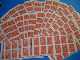 FRANCE FACIALE + 340 EUROS/360 TIMBRES AUTOCOLLANTS A VALIDITE PERMANENTE SUP - Booklets