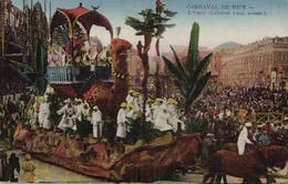 1 Cpa Nice - Carnaval  - L'oasis - Niza