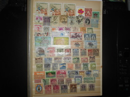 Collection , Asie 70 Timbres Obliteres - Collections (without Album)