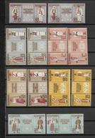 ROUMANIE - SERIE YVERT N° 1595/1606 ** MNH DENTELES + NON DENTELES - COTE = 54 EUR. COSTUMES - 1948-.... Républiques