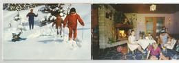 Carte De Visite Pralognan La Vanoise Ma Petite Cabane Home D'enfants 73 Savoie Carte 3 Volets - Visiting Cards