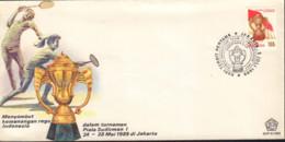 Ref. 380835 * NEW *  - INDONESIA . 1989. BADMINTON SUDIRMAN CUP. COPA SUDIRMAN DE BADMINTON. - Indonesia