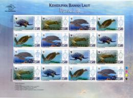 Ref. 256337 * NEW *  - INDONESIA . 2010. SEA TURTLES. TORTUGAS MARINAS - Indonesia