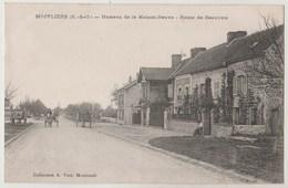 CPA 95 MAFFLIERS Hameau De La Maison Neuve - Route De Beauvais - France